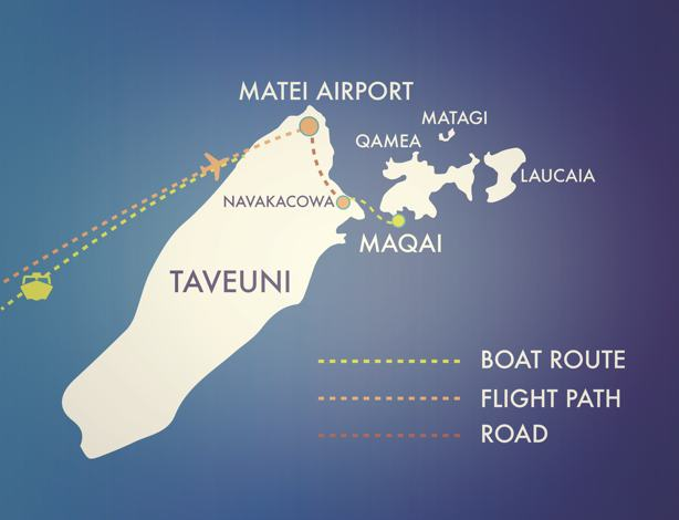Flag_map_of_Maqai_Travel routes_Maqai_detail_fiji.pg
