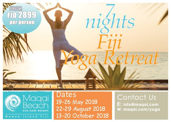 yoga retreat august 2018